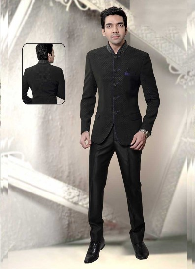 Black Tuxedos Coat Suit