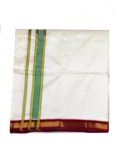 pure silk dhoti