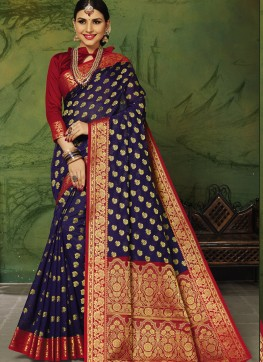 Blue Silk Regional Saree