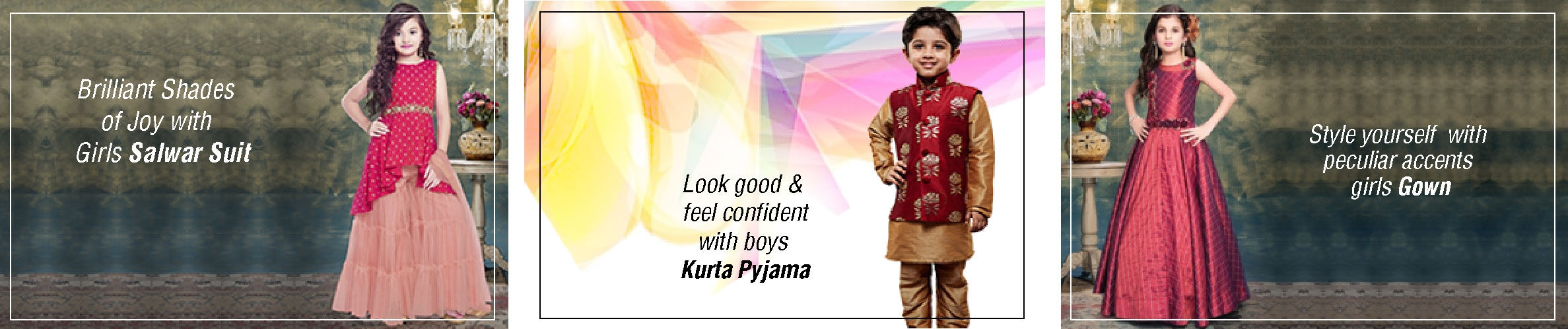 Kids Sarees, Salwars, Lehengas & More collections, shop online