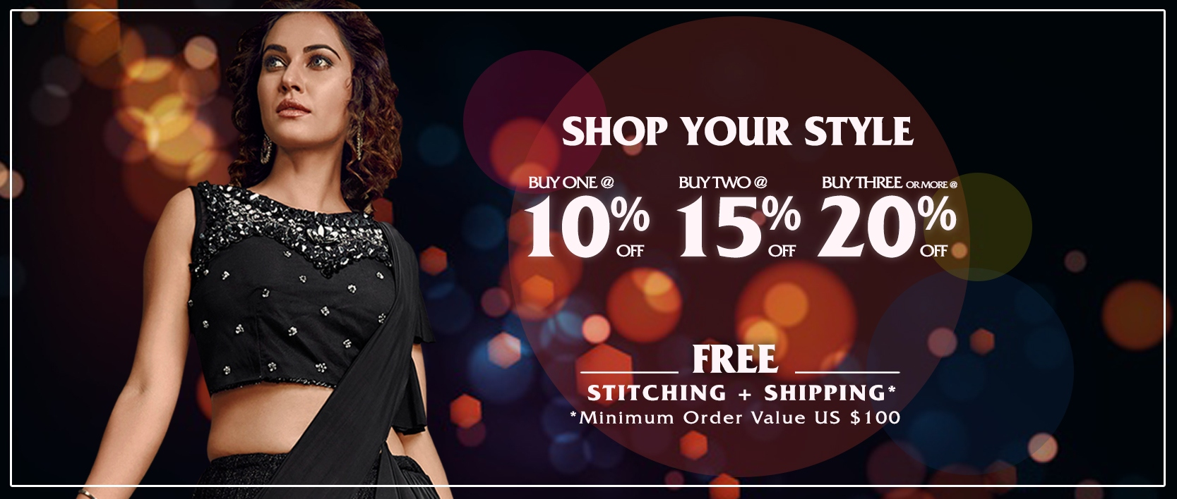 Buy > FREE SHIPPING and FREE STITCHING